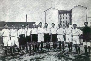 Franz Calì. Il primo capitano azzurro