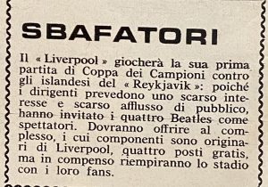 Liverpool 1964: i Reds e i Beatles