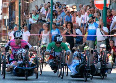 Handbike, l'altro Giro d'Italia
