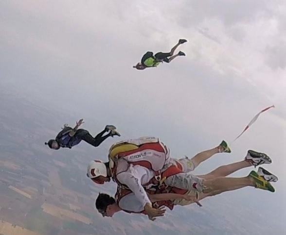 Il Marchese del Grillo e il paracadutismo sportivo