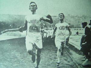 Emilio Lunghi e Mel Sheppard