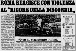 Tifo Roma Inter 1972