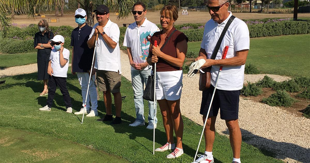 Liberi di sbagliare: golf e non vedenti