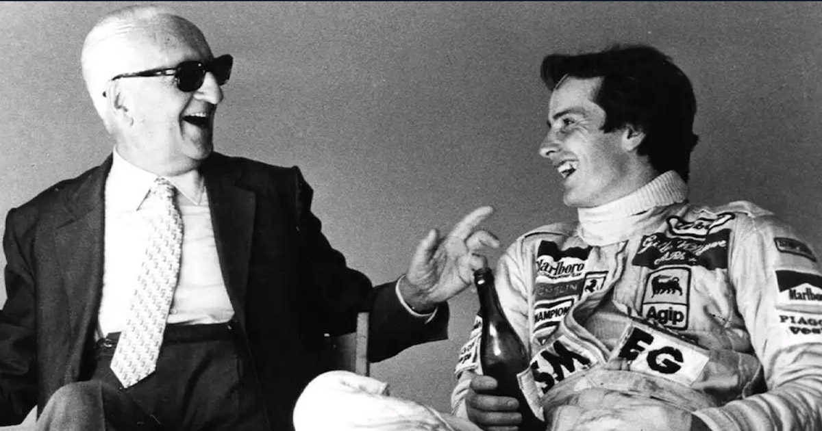 La prima volta di Gilles Villeneuve